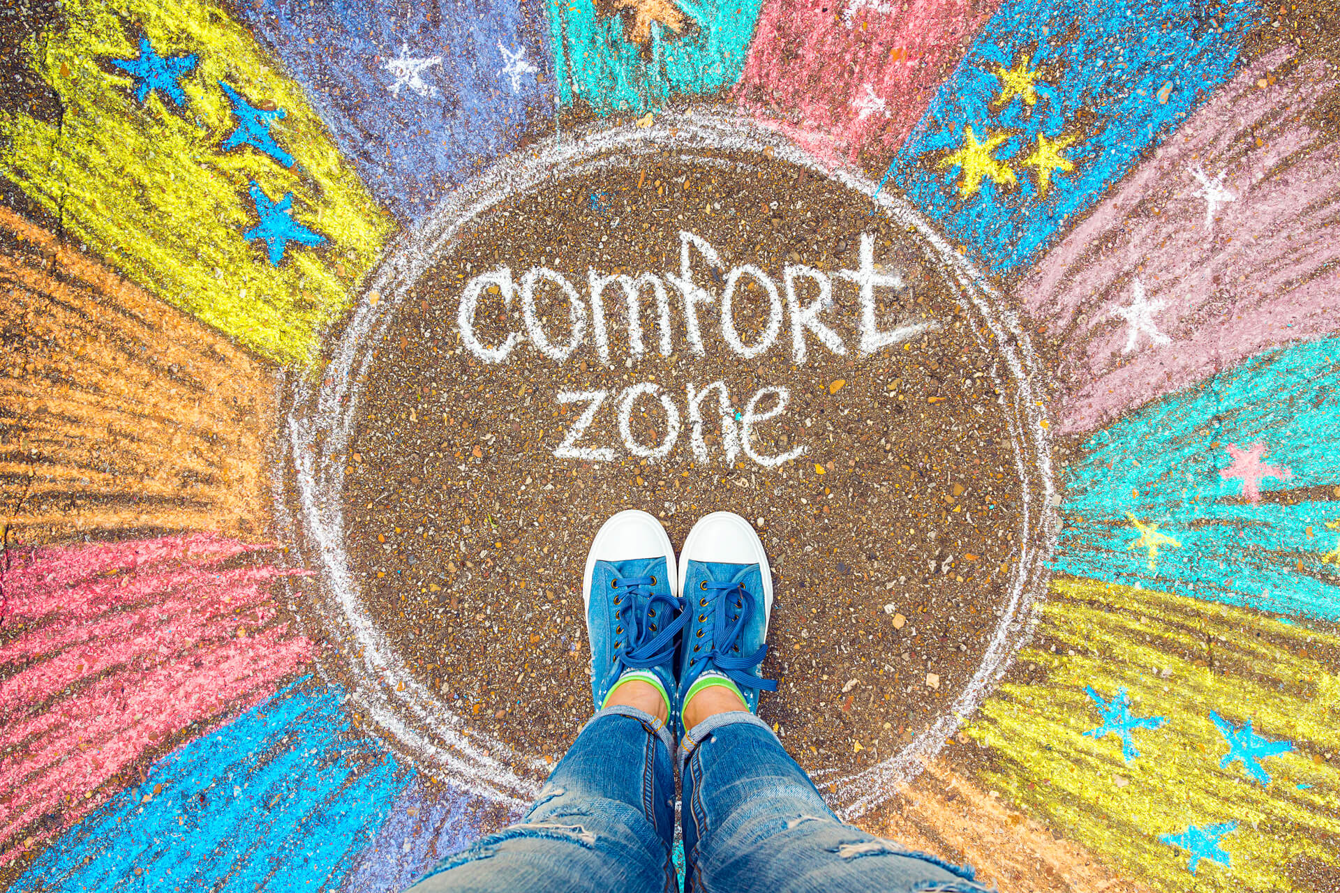 How to confidently step out of your comfort zone